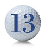 golf ball 13