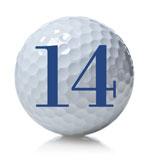 golf ball 14