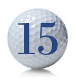 golf ball 15